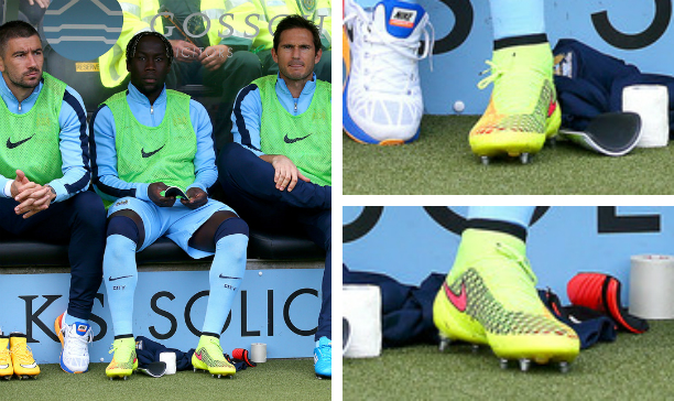 Bacary Sagna Manchester City Magista Obra edited