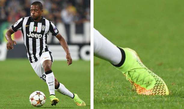 Patrice Evra Juventus Nike Magista Obra edited