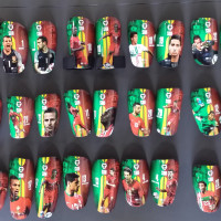 SAK Custom Shin Guards – Part Three
