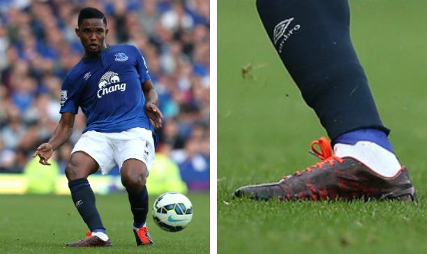 Samuel Eto'o Everton blackout evoSPEED edited