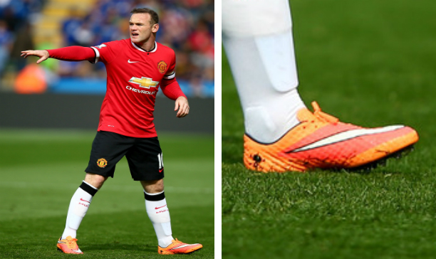 Wayne Rooney Manchester United Hypervenom Phantom edited
