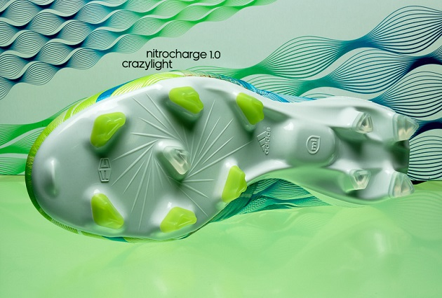 Outsole of Nitrocharge Crazylight