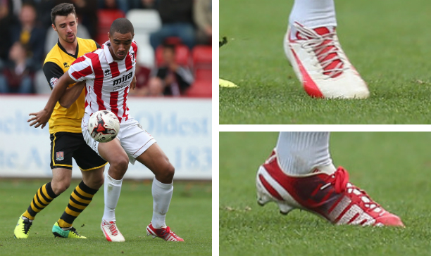 Bryan Harrison Cheltenham Town Arsenal evoSPEED edited