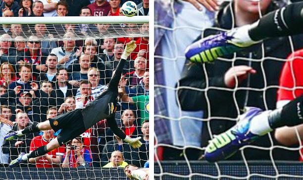 David De Gea Manchester United Puma evoSPEED edited