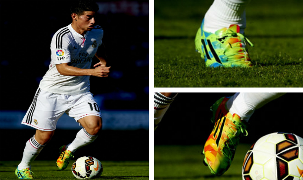 James Rodriguez Real Madrid F50 Crazylight edited