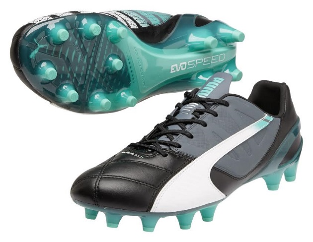Black Puma Leather evoSpeed