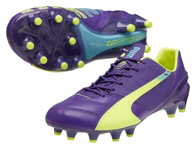 Leather Puma evoSpeed