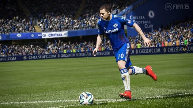 Hazard in FIFA15
