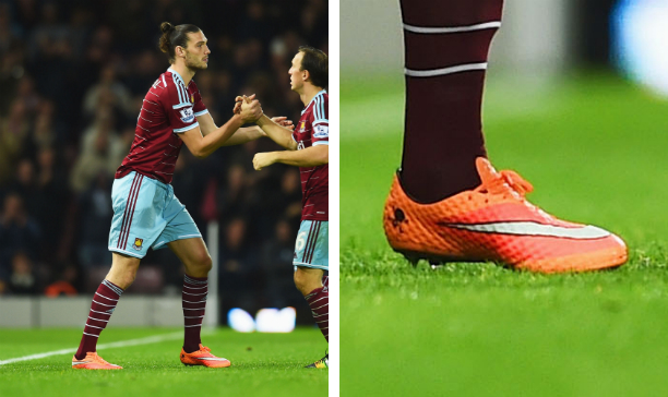 Andy Carroll West Ham Hypervenom Phantom edited