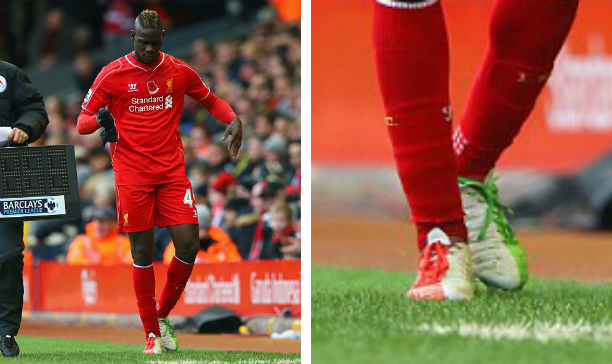 Mario Balotelli Liverpool Puma evoPOWER MB45 edited