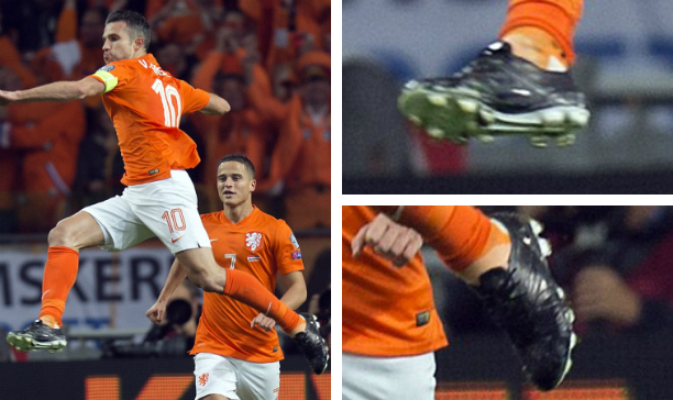 Robin Van Persie Netherlands custom adiPower edited