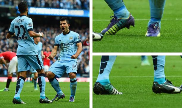Sergio Aguero and Gael Clichy Manchester City evoSPEED edited