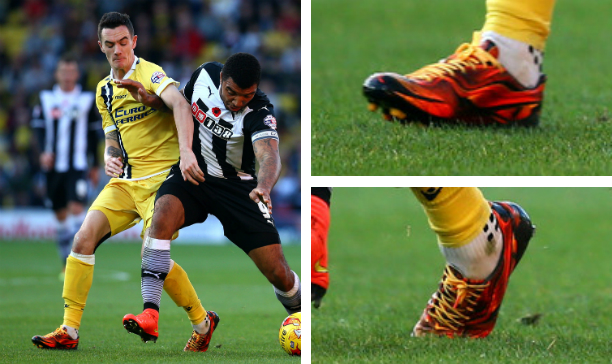 Shaun Williams Millwall CL adiPure edited