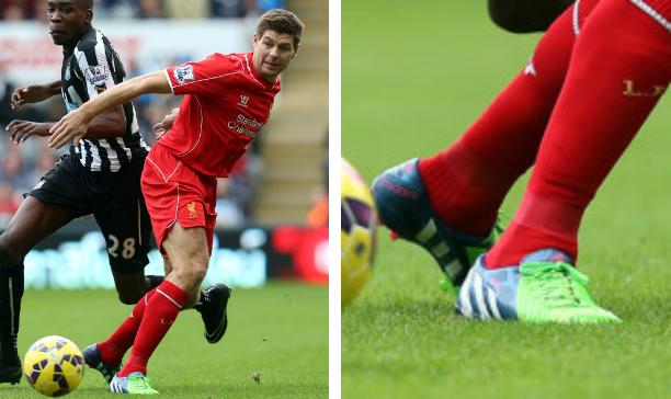 Steven Gerrard Liverpool Predator Instinct edited
