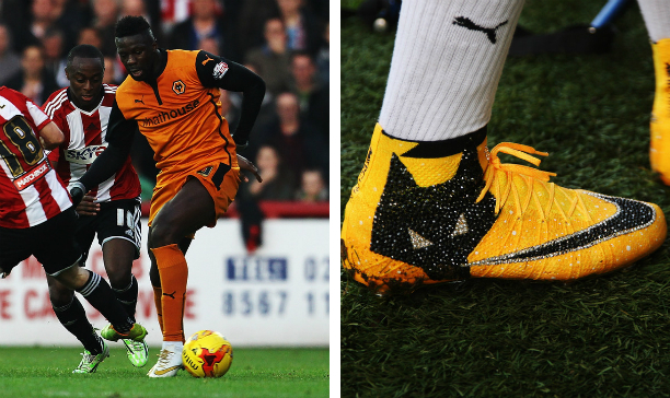 Bakary Sako Wolves custom Vapor X edited