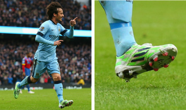 David Silva Manchester City F50 adiZero edited