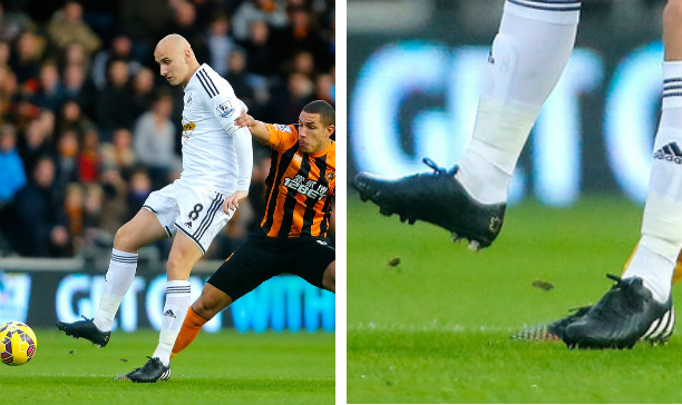 Jonjo Shelvey Swansea Pure Leather Predator edited