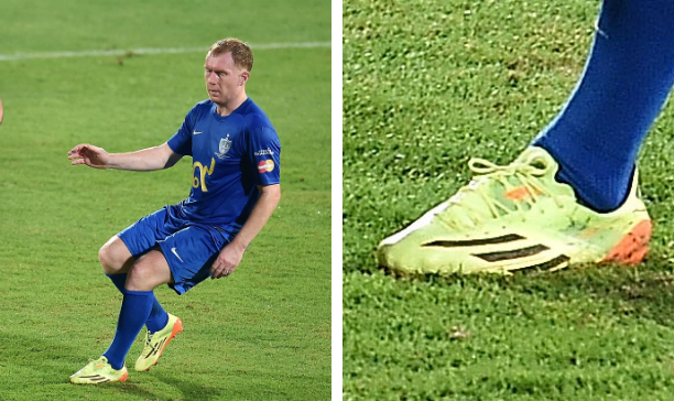 Paul Scholes Team Fabio Cannavaro F50 adiZero edited