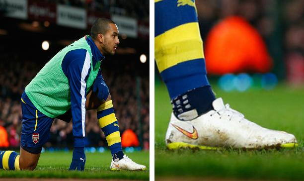 Theo Walcott Arsenal Vapor X edited
