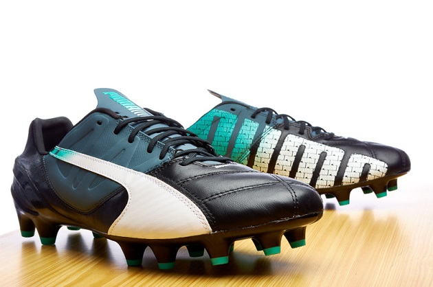 evoSPEED leather in black