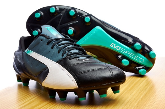 Puma leather evoSpeed soleplate