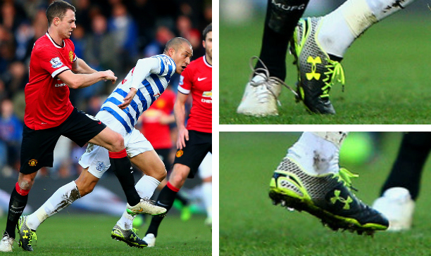 Bobby Zamora QPR leather clutchfit edited