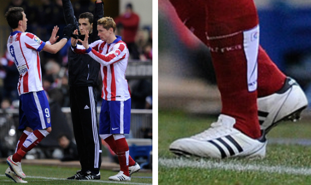 Fernando Torres Athletico Madrid adidas edited