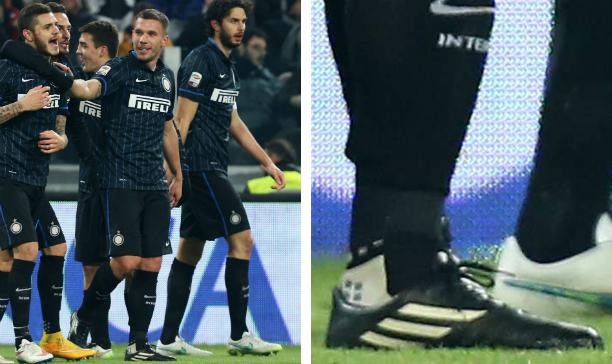 Lukas Podolski Inter Milan Pure Leather F50 edited