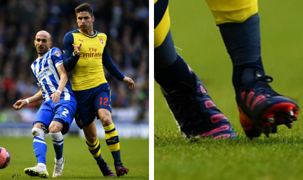 Olivier Giroud Arsenal evoPOWER edited