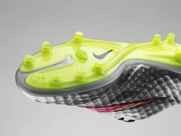Outsole of Liquid Diamond Hypervenom