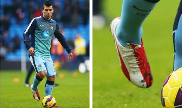 Sergio Aguero Manchester City evoSPEED Kun edited