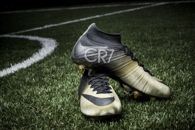 Rare Gold Nike Mercurial Superfly CR7