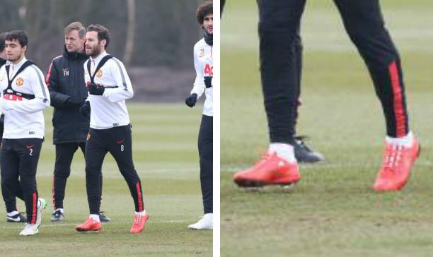 Juan Mata Manchester United F50 adiZero edited