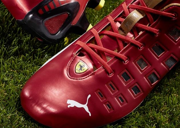 Puma evoSpeed Ferrari logo