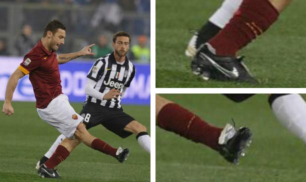 Francesco Totti Roma Tiempo edited