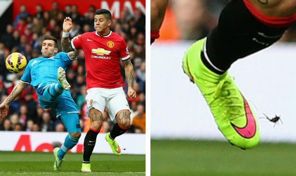 Marcos Rojo Manchester United SF IV edited