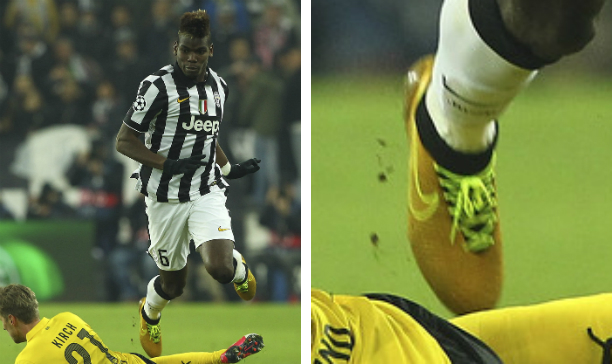 Paul Pogba Juventus custom Obra edited