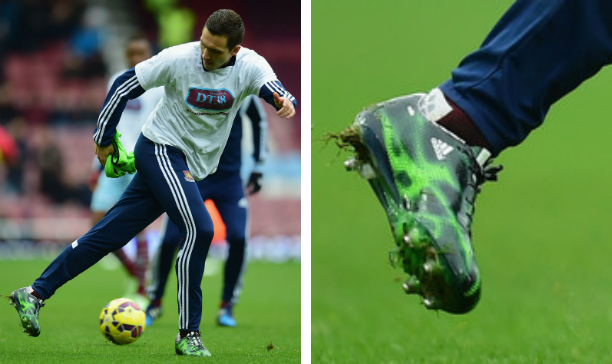 Stewart Downing West Ham F50 adiZero edited
