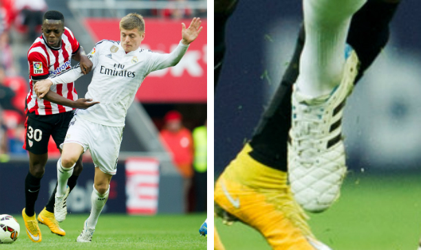 Toni Kroos Real Madrid adiPure 11Pro II edited