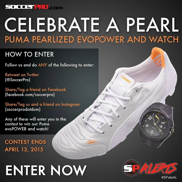 Puma evoPower and watch SPalerts contest