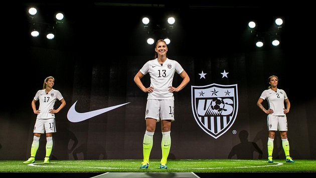 US Women's Home Kit launch
