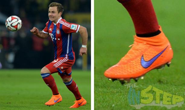 Mario Goetze Bayern Munich Magista Obra edited