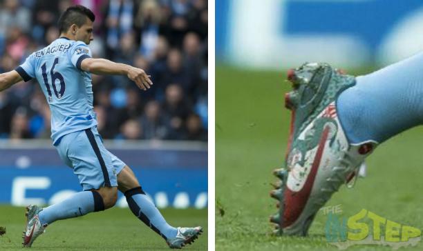 Segio Aguero Manchester City dragon evospeed edited