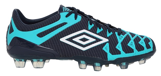 Black and blue Umbro UX-1