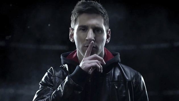Messi and adidas