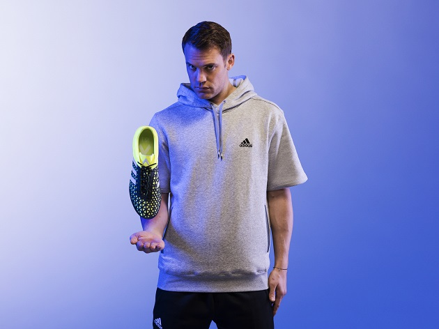 Neuer with adidas ACE