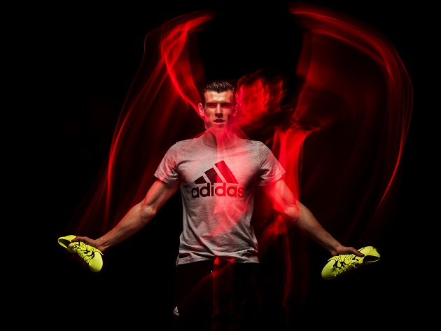 Bale with adidas X