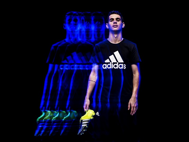 Oscar with adidas ACE