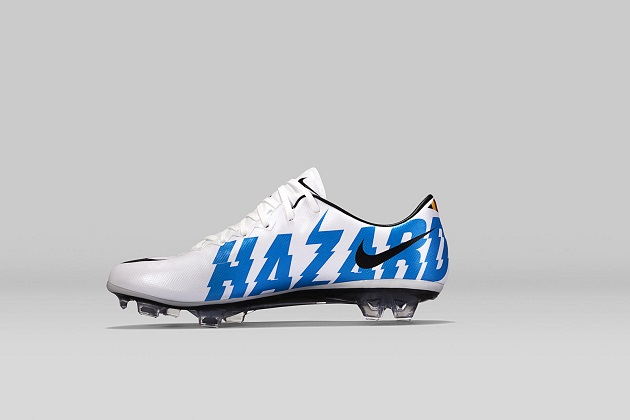 9df170139b26b Eden Hazard Receives Custom Nike Mercurial Vapor X - The Instep