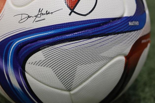 Closeup of MLS Nativo